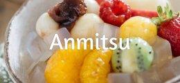 Anmitsu, el tradicional postre frío japonés