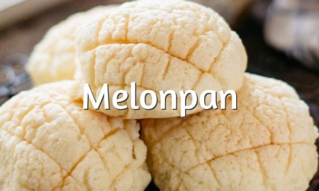 Melonpan, receta del pan dulce japonés