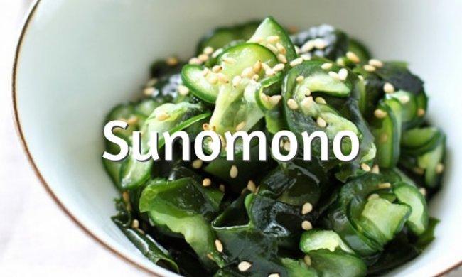 Sunomono (ensalada de pepino japonesa)
